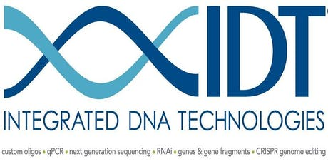 IDT seminar on PCR/qPCR for detection and quantification of CRISPR editing tickets