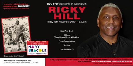 An Evening With Ricky Hill tickets