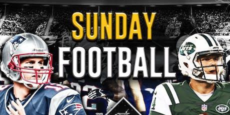Patriots vs. Jets @ The Greatest Bar  tickets