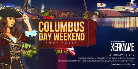 NYC Columbus Day Weekend Latin Yacht Cruise Boat Party tickets