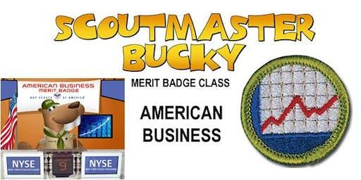 American Business Merit Badge - 2020-01-04 - Saturday PM - Scouts BSA