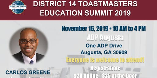 District  14 Education Summit
