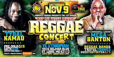 Hit Mi With Music - Reggae Concert