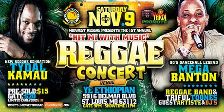 Hit Mi With Music - Reggae Concert tickets