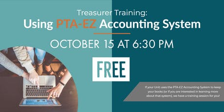 Treasurer Training: Using PTA-EZ Accounting System tickets