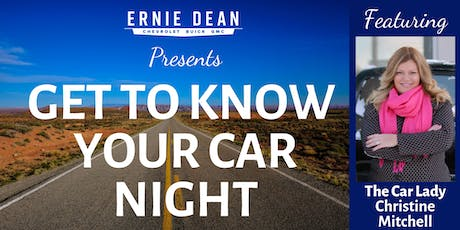Know Your Car Night tickets