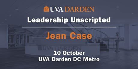Leadership Unscripted: A Conversation With Jean Case tickets
