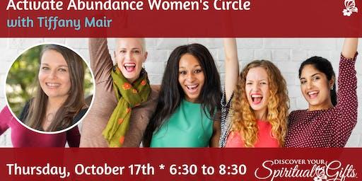 Activate Abundance Women's Circle