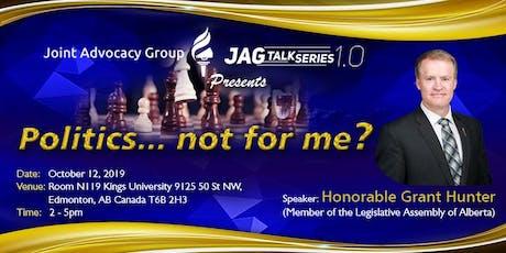 JAG TALK SERIES 1.0 tickets
