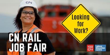 CN Rail Job Fair & Info Session tickets