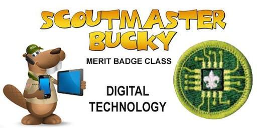 Digital Technology Merit Badge - 2020-01-04 - Saturday PM - Scouts BSA