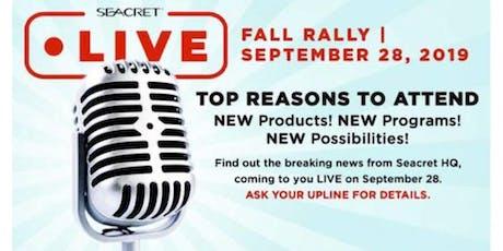 Seacret Fall Rally 2019 - OC Agent Center tickets