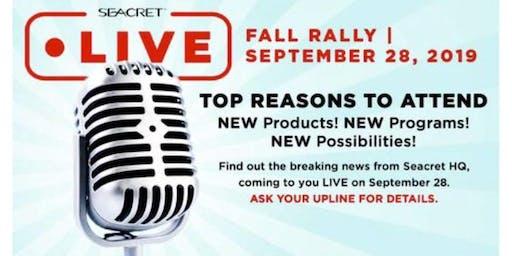 Seacret Fall Rally 2019 - OC Agent Center