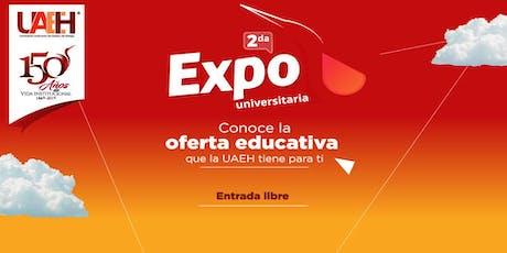2da. Expo Universitaria Engarzando Tu Futuro - UAEH boletos