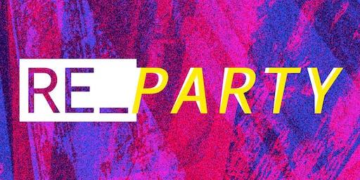 RE_PARTY / Soirée DJ dans le cadre du Festival Faire Hacker