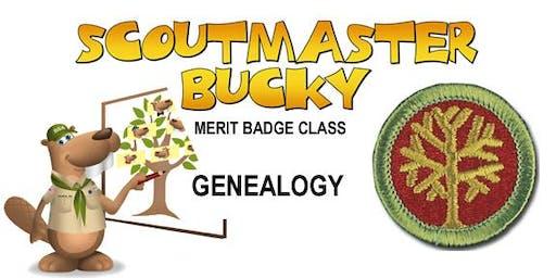 Genealogy Merit Badge - 2020-01-04 - Saturday PM - Scouts BSA