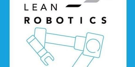 Séminaire L'approche « Lean Robotics» billets