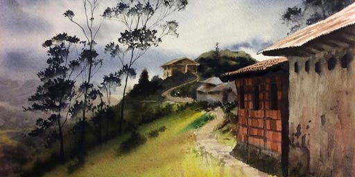 Painting Architecture in Watercolor Workshop with Anthony Pfohl, Jr.