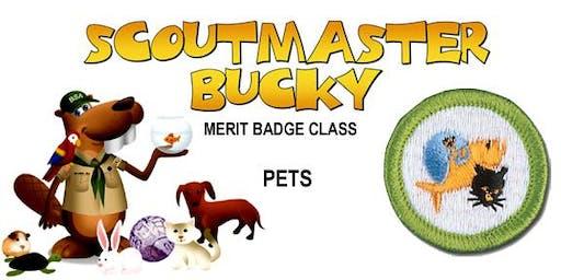 Pets Merit Badge - 2020-01-04 - Saturday PM - Scouts BSA