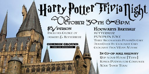 Harry Potter Trivia Night