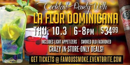 La Flor Dominicana Cocktail Party