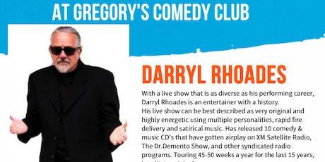 Gregory's Cocoa Beach Comedy Club October 3 - 5 ! tickets