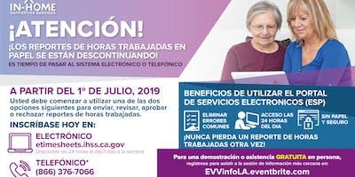 Sesión de Información para Verificación Electrónica de Visitas (EVV)