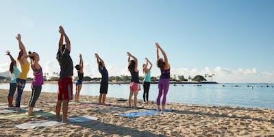 Yoga Saturdays at the Beach