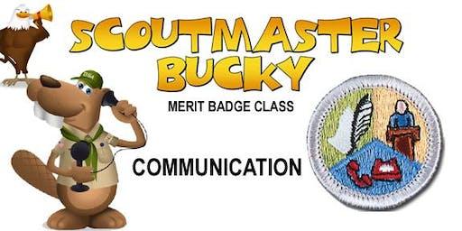 Communication Merit Badge - 2020-01-04 - Saturday PM - Scouts BSA