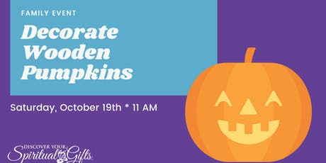 Family Event: Decorate Wooden Pumpkins tickets