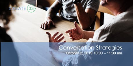 Tough Conversation Strategies tickets