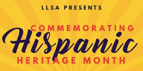 DePaul LLSA Commemorating Hispanic Heritage Month tickets