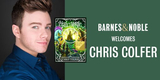 Chris Colfer Discusses A TALE OF MAGIC... at B&N Union Square