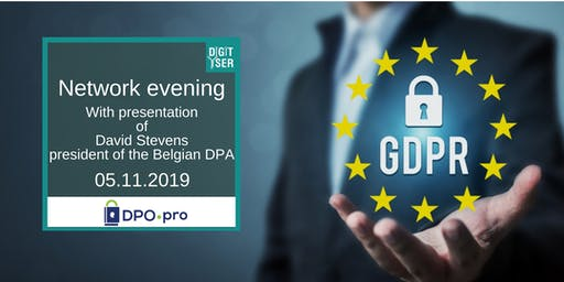 Networking evening with presentation of David Stevens, president of the DPA