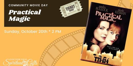 Community Movie Day: Practical Magic tickets