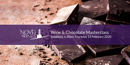 Wine & Chocolate Masterclass by Novel Wines x Chocolate Voyage, Salisbury