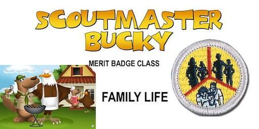 Family Life Merit Badge - Class 2020-01-04 - Saturday - Scouts BSA