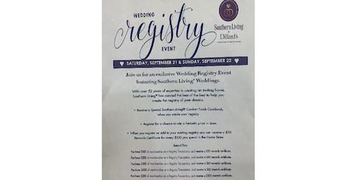Wedding Registry Event!