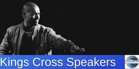 A Masterclass in Public Speaking & Presentation tickets