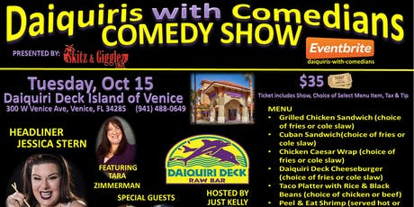 Daiquiris with Comedians tickets