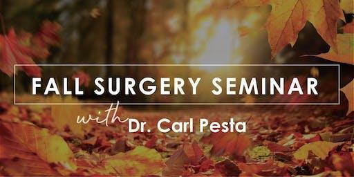 Fall Surgery Seminar