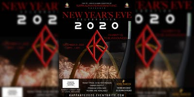 Kappa Alpha Psi Fraternity, Inc. New Years Eve 2020 Celebration