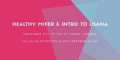 Healthy Mixer - Intro to USANA & Self Defense class