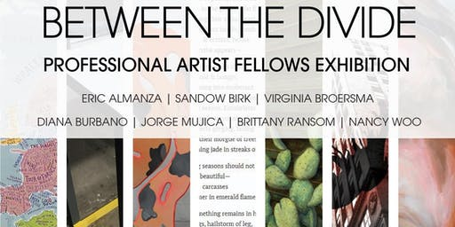 Between the Divide: Professional Artist Fellows Exhibition