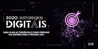 2020: Estratégias digitais
