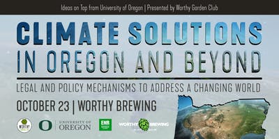 Climate Solutions in Oregon and Beyond