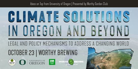 Climate Solutions in Oregon and Beyond tickets