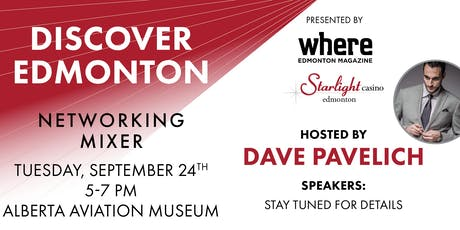 Discover Edmonton Networking Mixer tickets