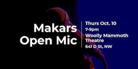 Makars Open Mic tickets