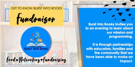 Get to Know Burst Into Books Fundraiser tickets
